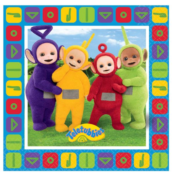 Teletubbies Beverage Napkins
